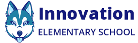 Innovation logo with wolf