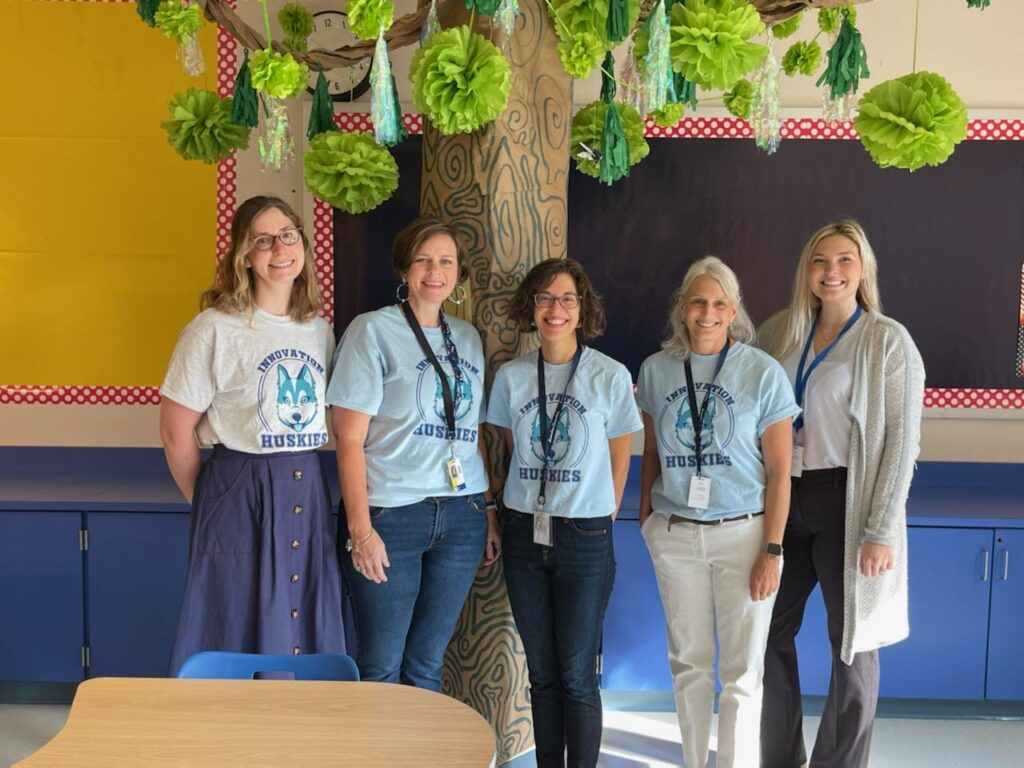 picture of Innovation's 4th grade teachers for SY21-22